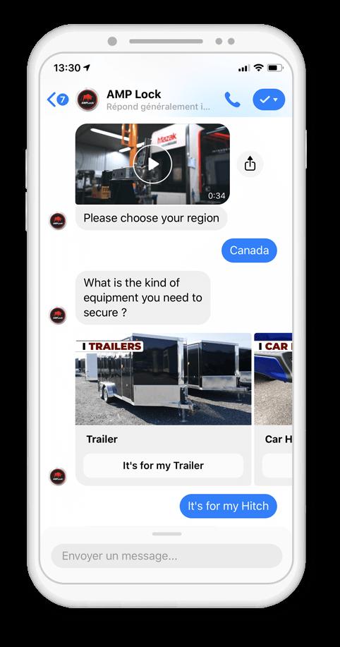 AMP chatbot